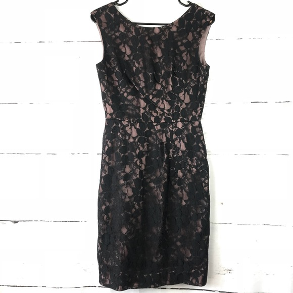 b109b0ee859 ANTONIO MELANI Dresses   Skirts - Antonio Melani Black Lace Sheath Dress  Size 2